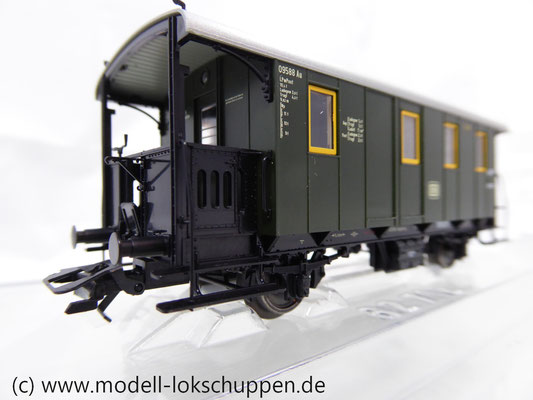 Märklin 43030 Nebenbahnwagen Post und Gepäckwagen der DB H0   4