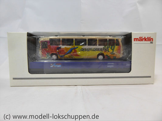 Märklin 48707 / Niederbordwagen Rlmms Sondermodell: 1.FC Märklin Jahreswagen 2007    2