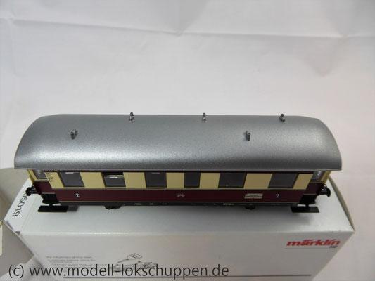 Märklin 43136 Nebenbahnwagen der DB- Exklusivausführung Göppingen Epoche IV     6