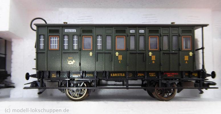 Märklin 43985 Bayerisches Personenwagen-Set / Epoche I    7