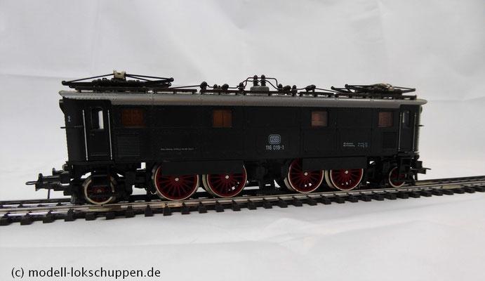 Roco H0 AC 14143 Elektrolokomotive der DB BR 116 019-1   7
