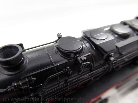 Märklin 26558 Einmalige Serie BR 44  DB mit schwerem Güterzug Stahlröhren    10