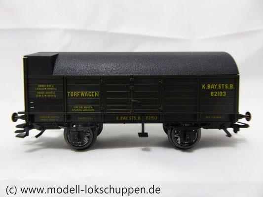 Trix 24303  Torftransportwagen  der K.Bay.Sts.B.  Epoche I