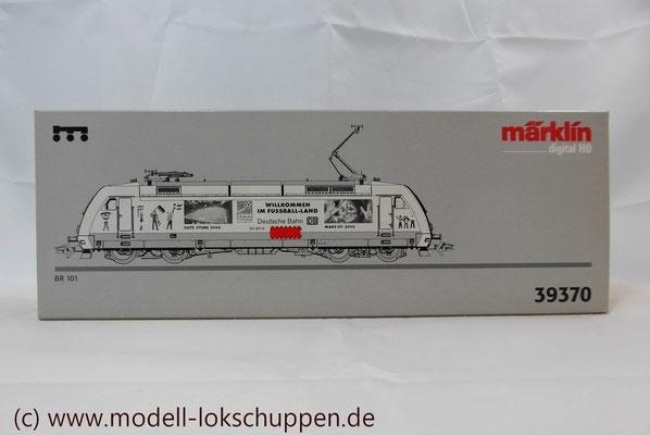 """Märklin 39370 E-Lok BR 101 """"Fußball WM 2006"""" Insider Modell 2000   2"""