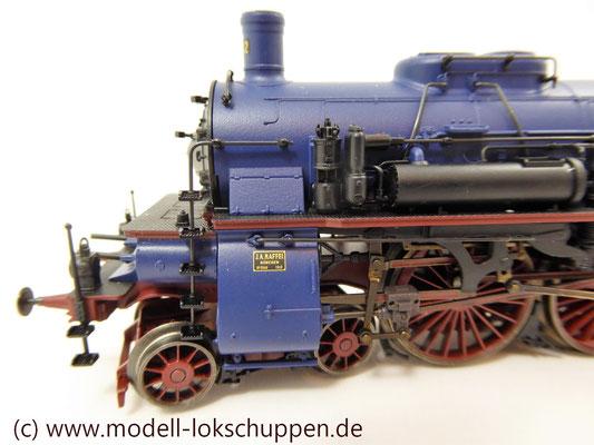 Schnellzuglokomotive Serie IVh der Gr.Bad.Sts.E. / Märklin 39021 MHI 2008    6