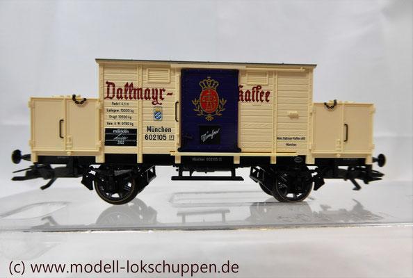 Märklin H0 46074 Kolonialwarenwagen Dallmayer Insider Jahreswagen 2002