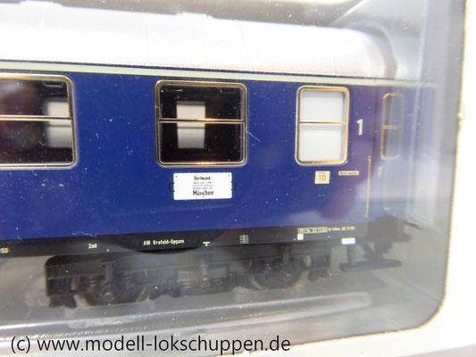 Märklin 43910 H0 Schnellzugwagen 1. Klasse der DB AB4üm-63 Ep.3