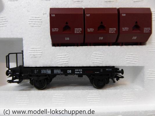 """Märklin 48270 H0 Wagen-Set """"Kohletransport"""", DB, Ep. 3   6"""