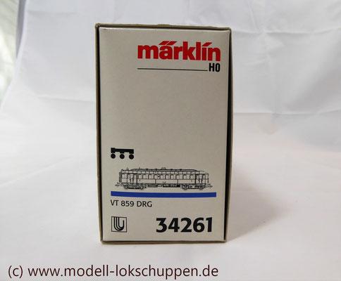 Märklin H0 34261 Diesel-Triebwagen VT 859 der DRG, Delta, MHI 1998    1