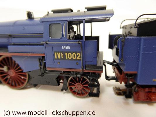 Schnellzuglokomotive Serie IVh der Gr.Bad.Sts.E. / Märklin 39021 MHI 2008    8