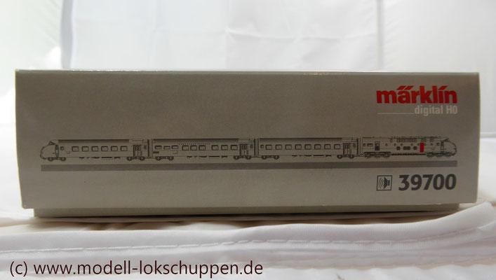 Märklin Digital 39700 - Triebwagen-Zug TEE RAm I SBB    1