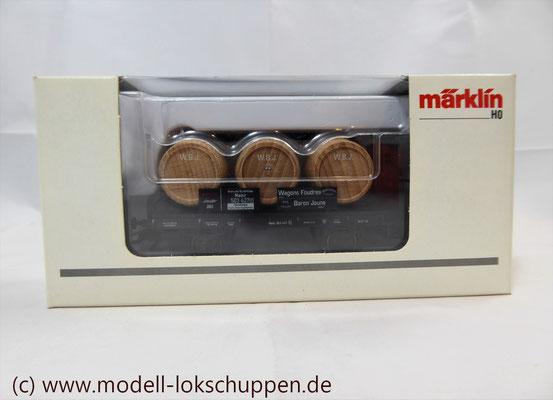 "Märklin H0 46744 Jahreswagen 2003 Fasswagen ""Baron Jeune""   2"