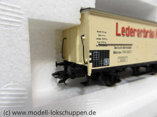 """Märklin 48792 DRG G-Wagen Set Biertransport Ep.2 """"Ledererbräu Nürnberg"""" MHI Sondermodell   9"""
