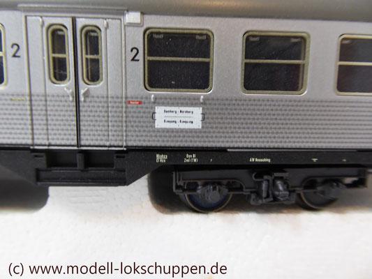 """BR 140 DB Wendezug im Nahverkehr """"Silberlinge"""" / Märklin 26511   5"""
