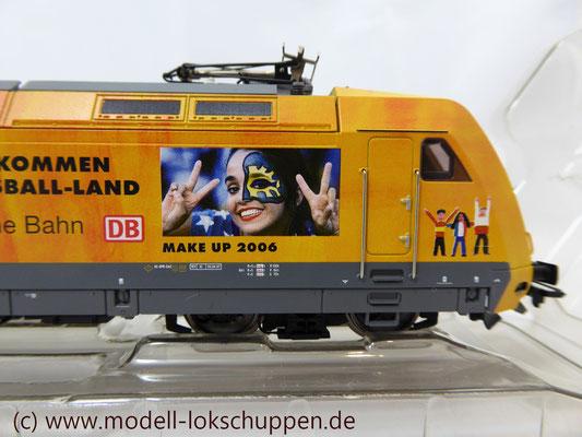"""Märklin 39370 E-Lok BR 101 """"Fußball WM 2006"""" Insider Modell 2000   8"""