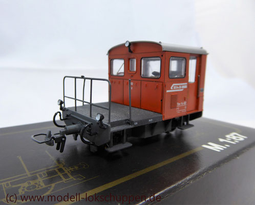 Diesel Traktor - Tm 2/2 - Loknr. 62 - SRhB - H0m / Bemo 1273 122