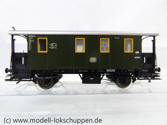 Märklin 43030 Nebenbahnwagen Post und Gepäckwagen der DB H0   3