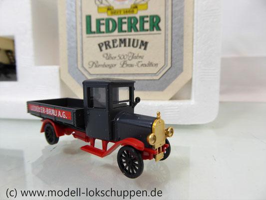 """Märklin 48792 DRG G-Wagen Set Biertransport Ep.2 """"Ledererbräu Nürnberg"""" MHI Sondermodell   10"""