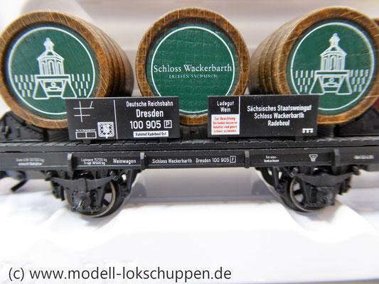 Märklin 94289 Weinfasswagen Schloss Wackerbarth Sondermodell 2007     4
