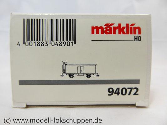 """MÄRKLIN 94072 """"Rote Funken Köln""""mit Bremserhaus Limitiertes Sondermodell    1"""