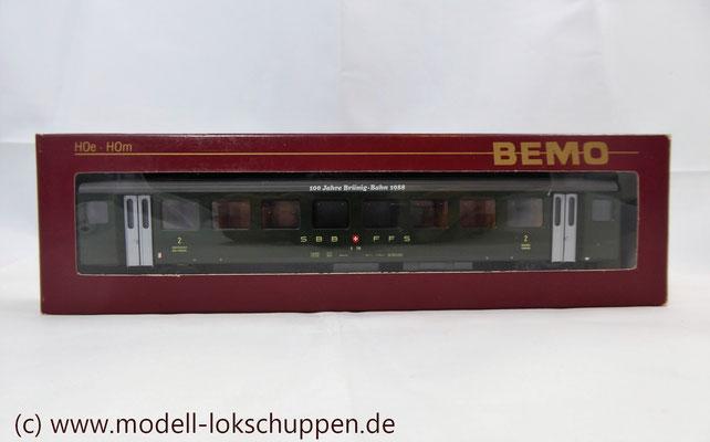Einheitswagen III/ Reisezugwagen 2 Klasse B 710 SBB / CFF / FFS  H0m / Bemo 3271 406