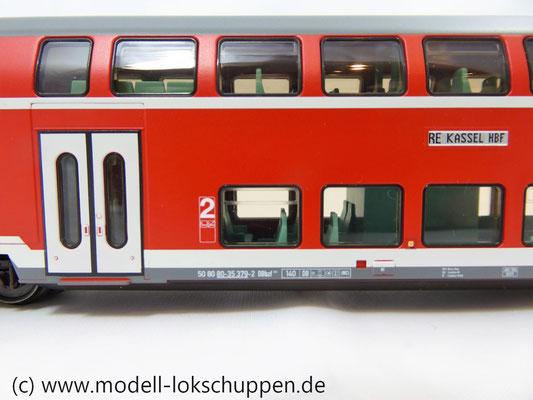 Märklin 43586 Doppelstocksteuerwagen DBbzf 761, 2. Klasse, der DB AG    6