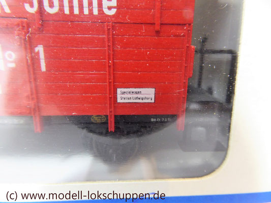 "46969 Märklin Insider Jahreswagen 1996 Klappdeckelwagen ""Heinr. FRANCK Söhne""    1"