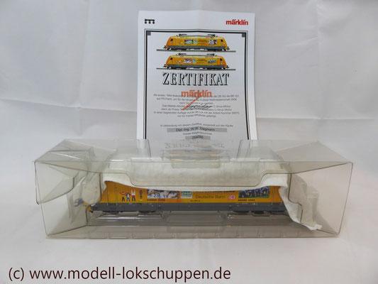 """Märklin 39370 E-Lok BR 101 """"Fußball WM 2006"""" Insider Modell 2000   3"""
