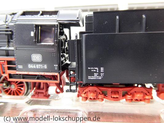 Märklin 26558 Einmalige Serie BR 44  DB mit schwerem Güterzug Stahlröhren    8