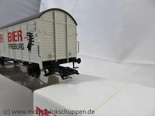 "Märklin 46201 Insider-Wagen 2004: Gedeckter Güterwagen ""Ganter Bier""     6"
