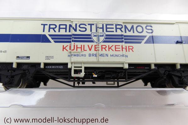"""Insider-Jahreswagen H0 2013 - Kühlwagen """"Transthermos"""" /     Märklin 48163"""
