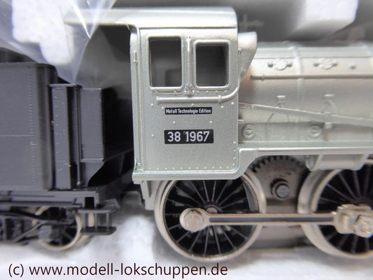 "Lokomotiv-Packung ""Baureihe 38"". (Metall-Technologie-Edition) / Märklin 00380   6"