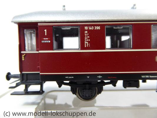Märklin 43351 / Einheitsnebenbahnwagen ABie-34 der DB 1. und 2. Klasse.      3