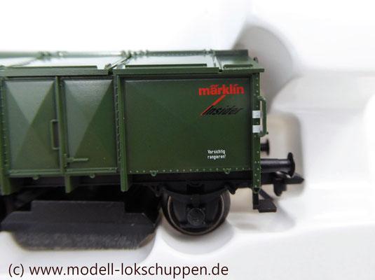 Märklin 46010  Schienenreinigungswagen Klappdeckelwagen-Paar KK 15    5