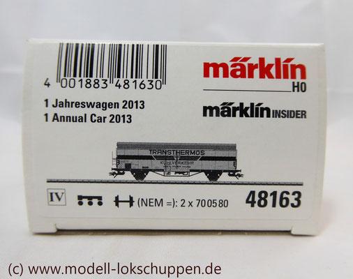 Märklin 48163 Insider-Wagen 2013: Kühlwagen Transthermos    1