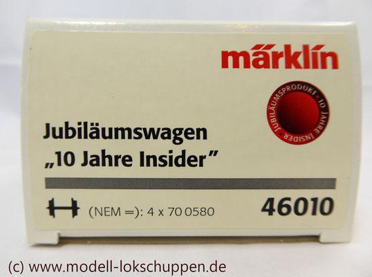 Märklin 46010  Schienenreinigungswagen Klappdeckelwagen-Paar KK 15    1