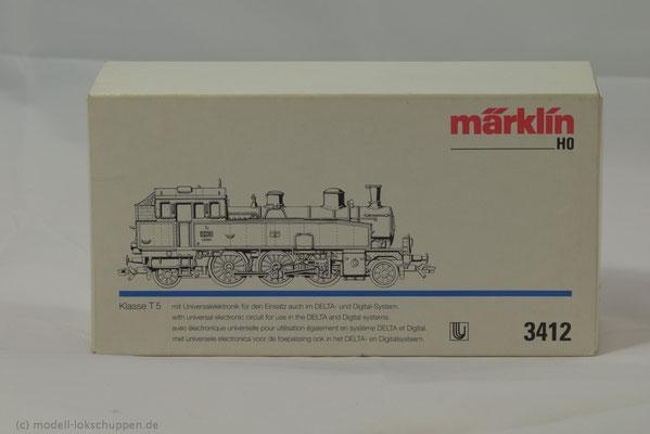 Reihe T 5 der K.W.St.E. Betriebs-Nr. 1208 / Märklin 3412  1
