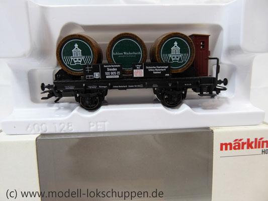 Märklin 94289 Weinfasswagen Schloss Wackerbarth Sondermodell 2007     1
