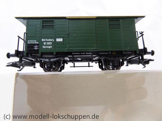 Märklin 48852 / Heizwagen Typ H der K.W.St.E. mit 2 Bremserbühnen      5