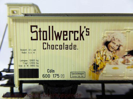 Sonderwagen IMA 2000 Stollwercks Chocolade / Kühlwagen Märklin 48300