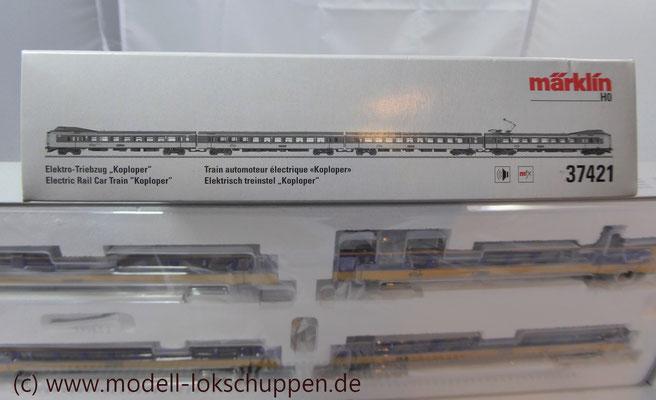 Märklin H0 37421 Triebzug ELA4 Koploper NS mfx Digital Sound OVP 1