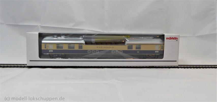 """Aussichtswagen, 1. Klasse """"Rheingold"""" / Märklin 43880"""
