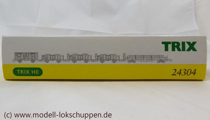 """Trix 24304 Wagen-Set zum Stahlwerk """"Maxhütte""""    1"""