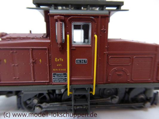 Rangierlokomotive Serie Ee 3/3 der SBB / Märklin 36331    5