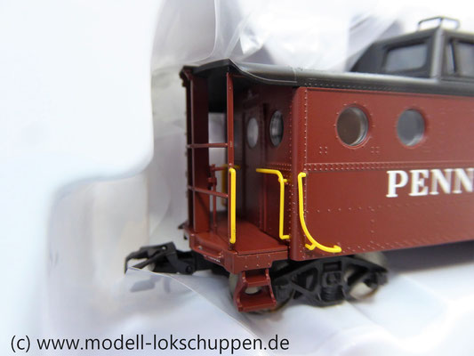 Märklin 45705  Güterzugbegleitwagen  Caboose Typ N5c der Pennsylvania Railroad    4