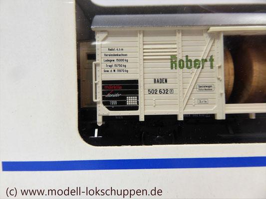 """Märklin H0 48754 Insider Jahreswagen 1999 """"Robert Metzger & Co""""    3"""