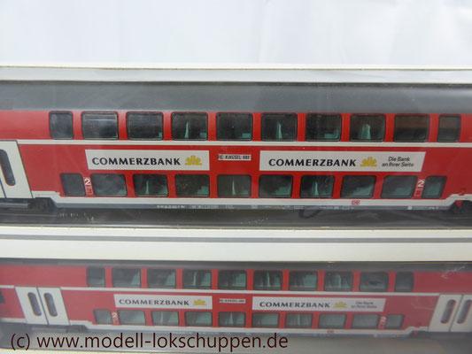 Märklin 43584 / 43585 / 43586 / 2x 43592 5er Set Doppelstockwagen DBz 751 der DB AG