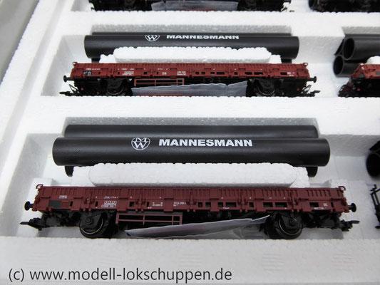 Märklin 26558 Einmalige Serie BR 44  DB mit schwerem Güterzug Stahlröhren    4