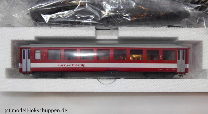 Bemo 7262 200 - HGe 4/4 II - Nr. 107 - Grimsel + 3 Personenwagen - FO - BVZ - RhB - H0m_6