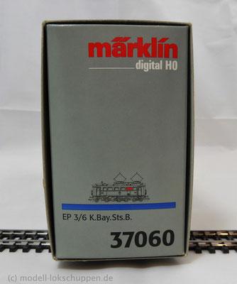 Märklin 37060 Digital EP 3/6 K.Bay.Sts.B. 20102 Spur H0 OVP